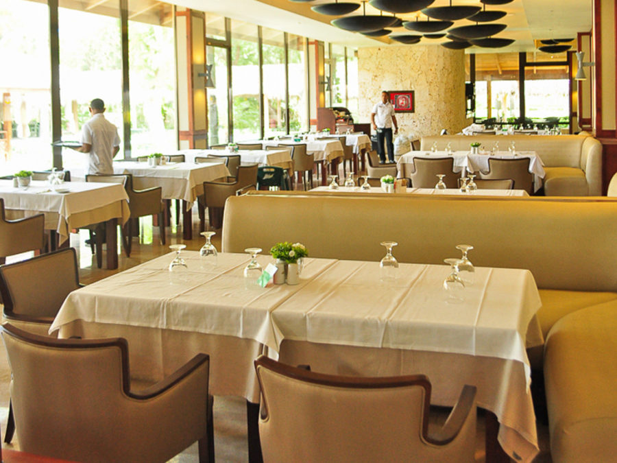interior de un restaurante