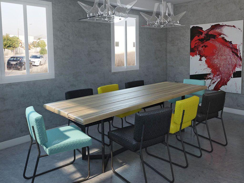 Blog de dise o e interiorismo con noticias contract y hogar for Concepto de comedor industrial