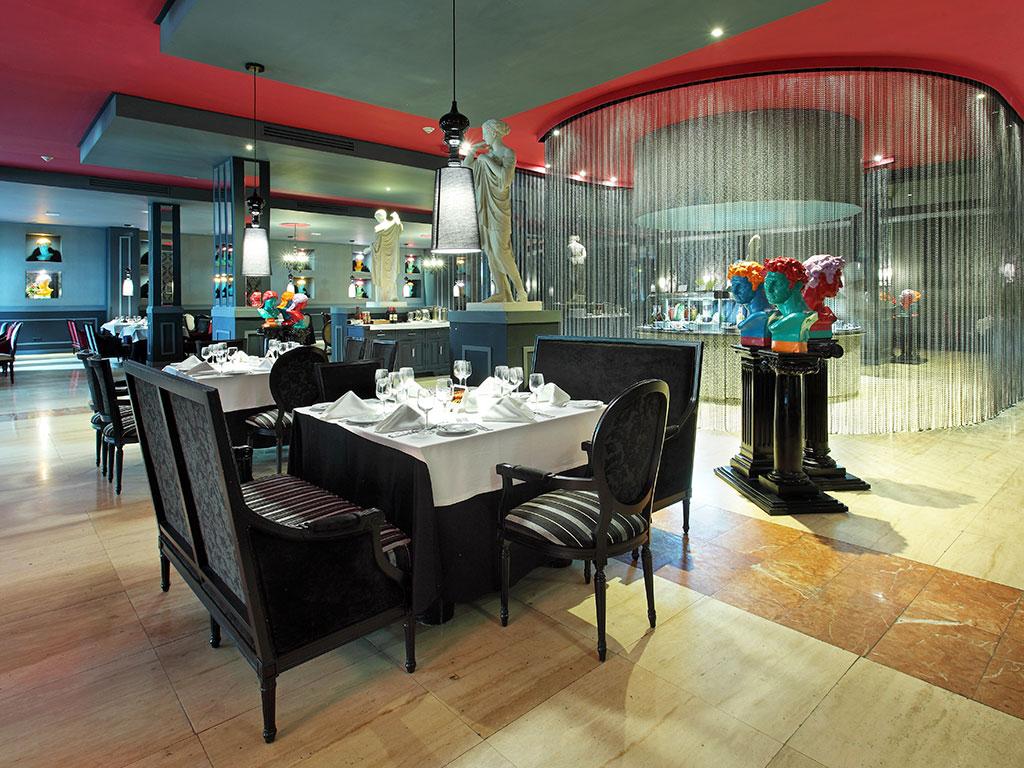 Restaurante Arte e Cucina,  Grand Palladium Jamaica