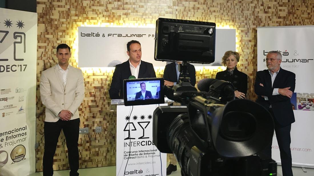 Presentación de Francisco Juan ante los medios de comunicación