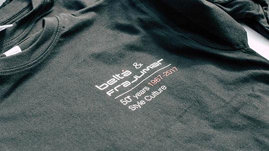foto camiseta 50 años