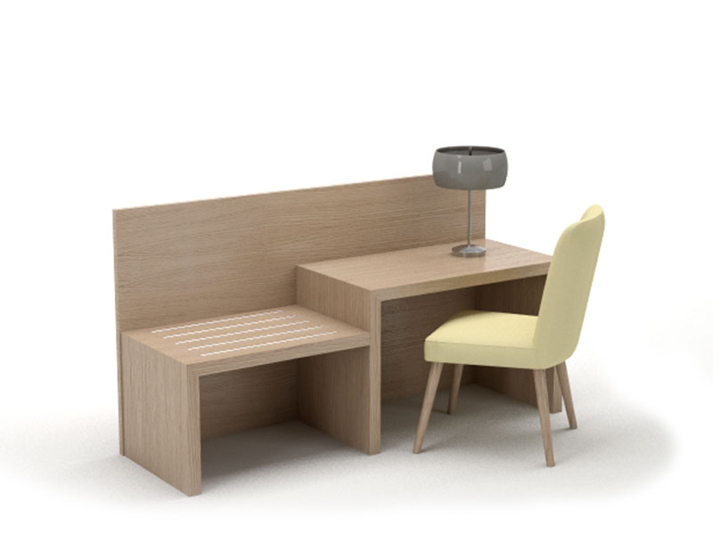 Desk And Furniture For Hotel Rooms