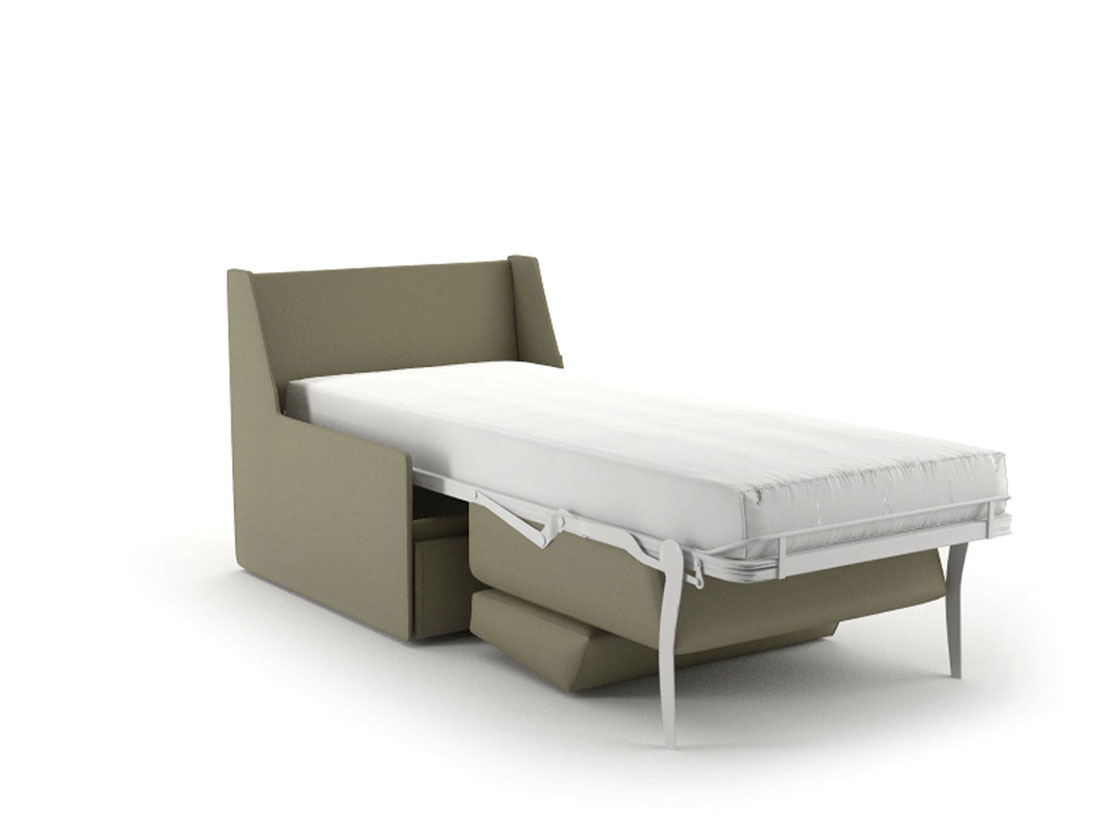 Sillón cama QUIET abierto
