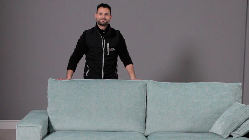 Cómo enfundas y desenfundar un sofá