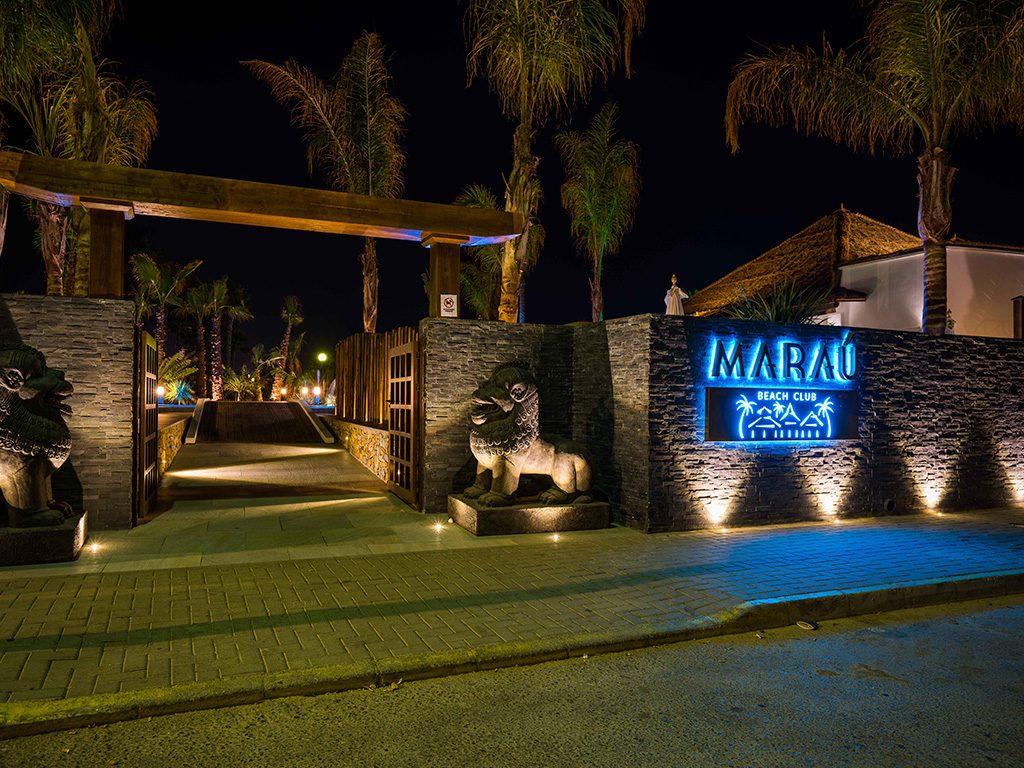 Maraú Beach club entrada. Proyecto contract