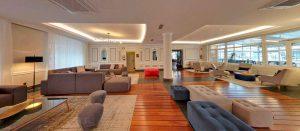 mobiliario Beltá & Frajumar para hotel Silken Palacio Uribarren