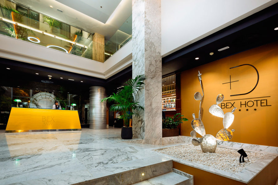 Hotel Bex, proyecto contract de interiorismo.