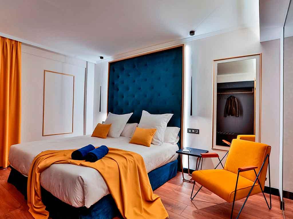 dormitorio de hotel
