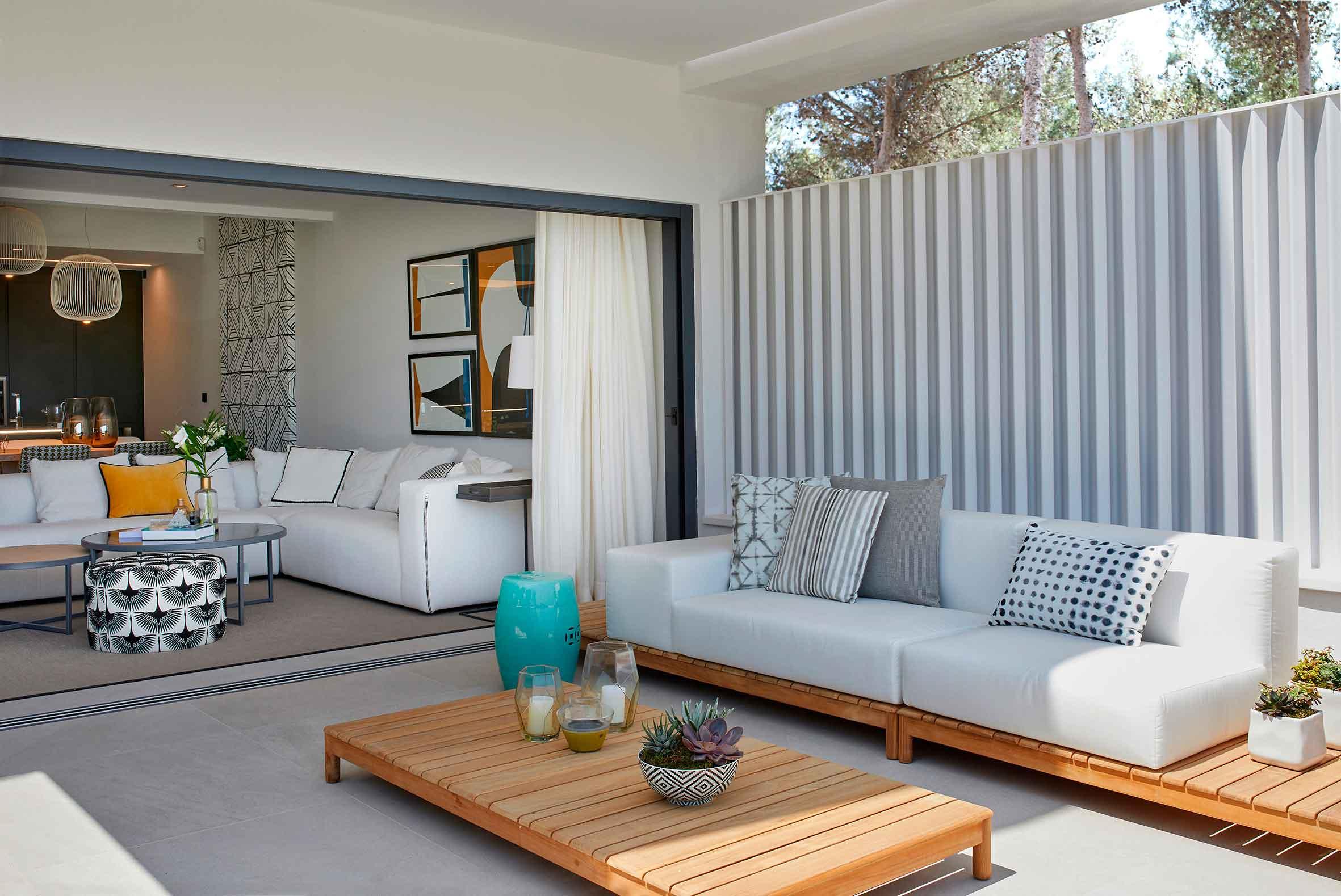 Mobiliario para The Island. Diseño de interior