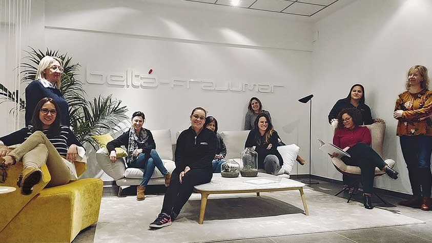 Mujeres en la empresa Beltá & Frajumar