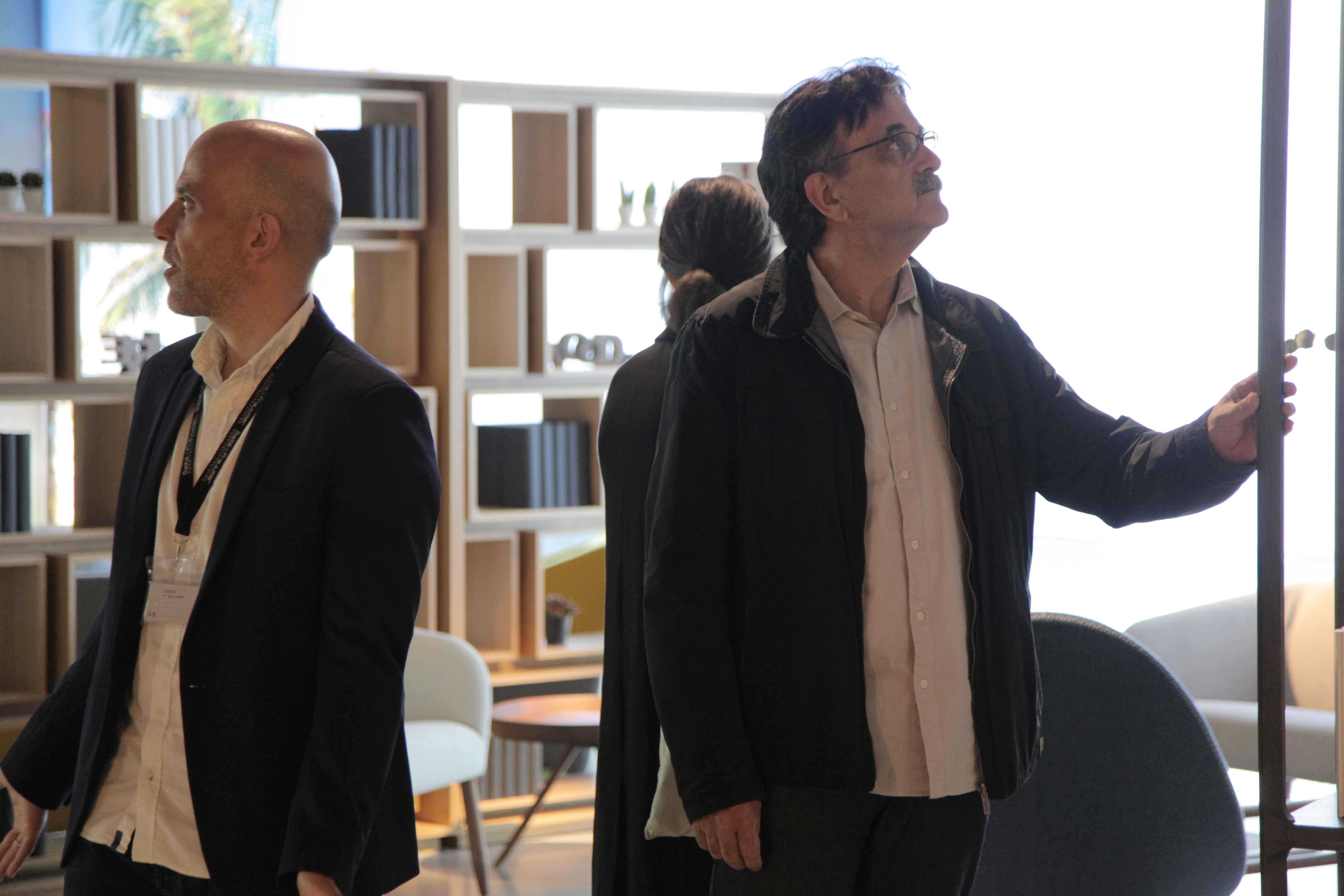 presentación InterCIDEC 2019. Visita al showroom