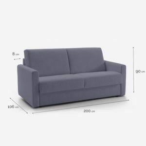DARO OP. B sofá cama