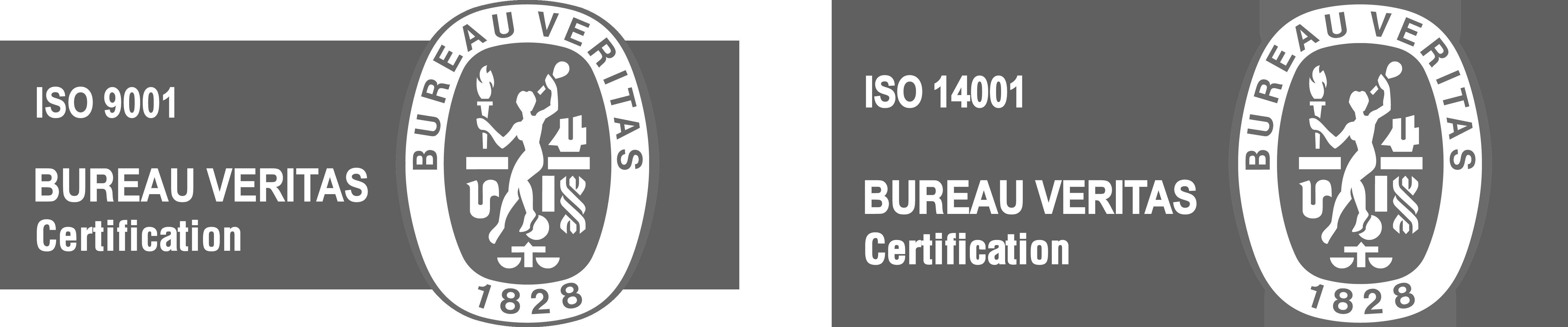 logos ISO calidad y ambiente