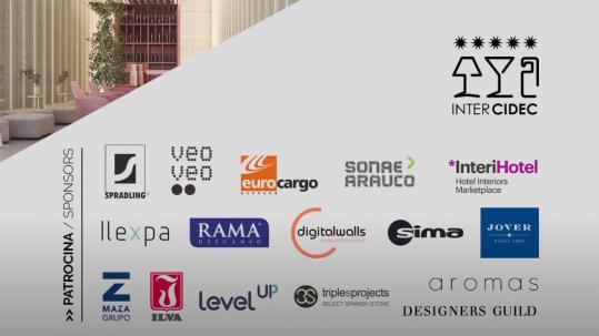 Patrocinadores Concurso Internacional de Diseño Contract 2019