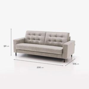 TRUE sofa bed