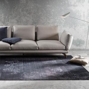 AXIS Sofá tapizado tela beige Belta Frajumar