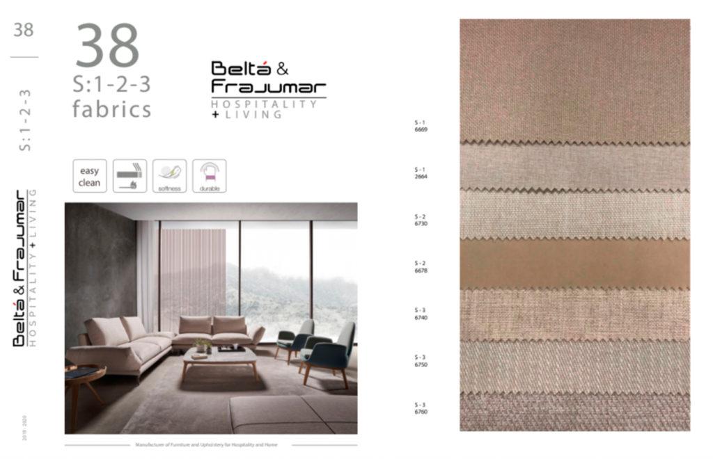 Catálogo de tejidos Belta Frajumar