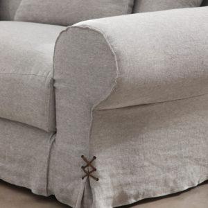 Detalles sofá MUSA tejido