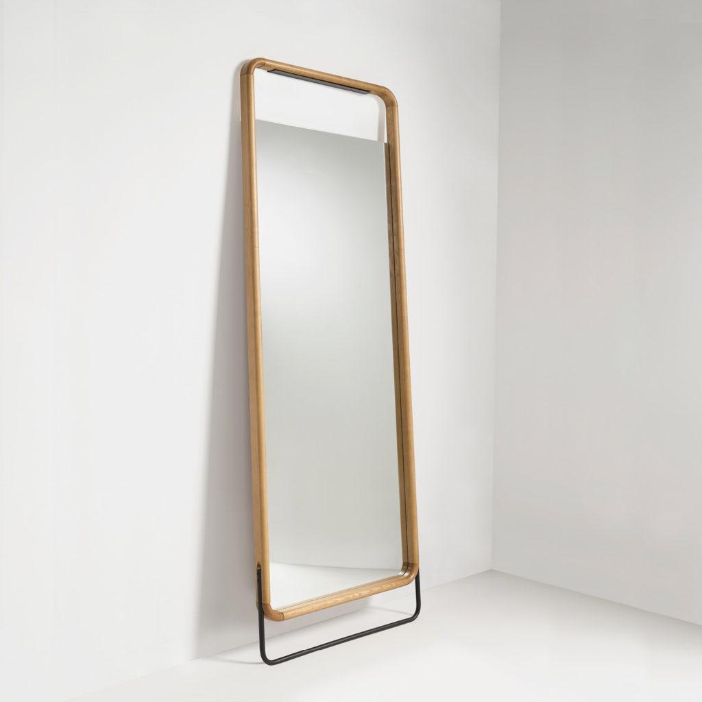 Espejo GORK acabado madera de roble