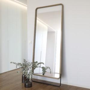 Espejo de madera GORK decoración elegante