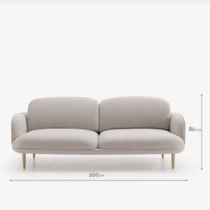 WELL sofá cotas