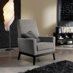 ALMA butaca gris mobiliario hogar Belta Frajumar