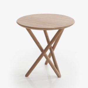 BACK mesa para hogar acabado roble