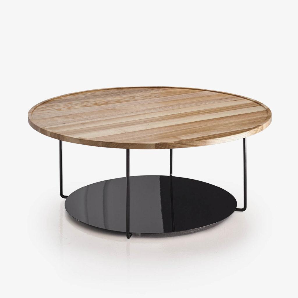DOMO mesa centro roble