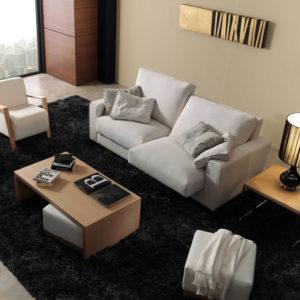 EGOS sofa tapizado gris