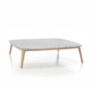 EVEN mesa centro blanca