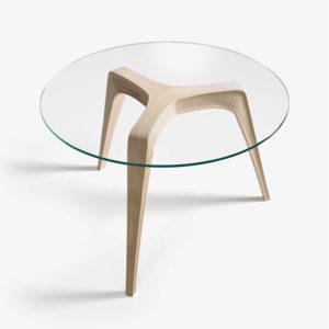 ICON mesa auxiliar en madera fresno