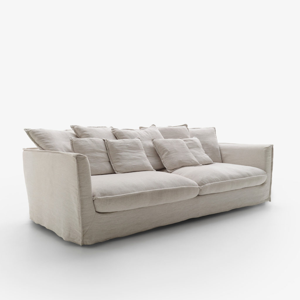 Sofa Loft tapizado tela Nola
