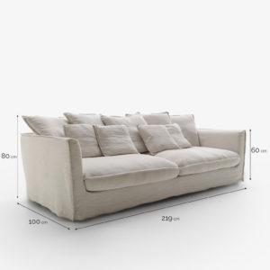Loft sofa marca Belta Frajumar