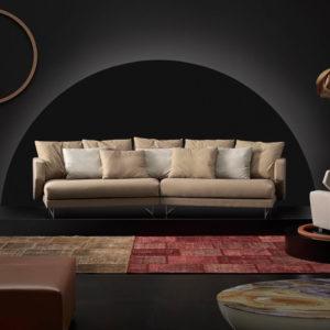 Sofá ERIK tapizado beige