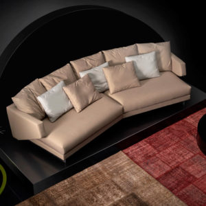 Sofá de diseño elegante para hogar