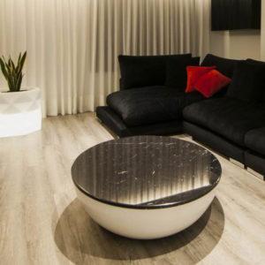 mesa de marmol luna negra