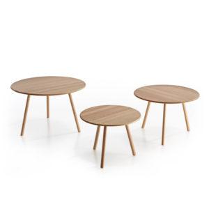 Conjunto de mesas redondas RUND