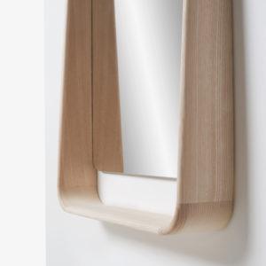 detalle madera espejo