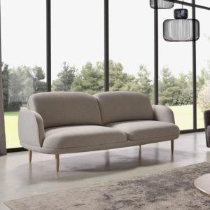 WELL sofá curvas elegante para decoración hogar