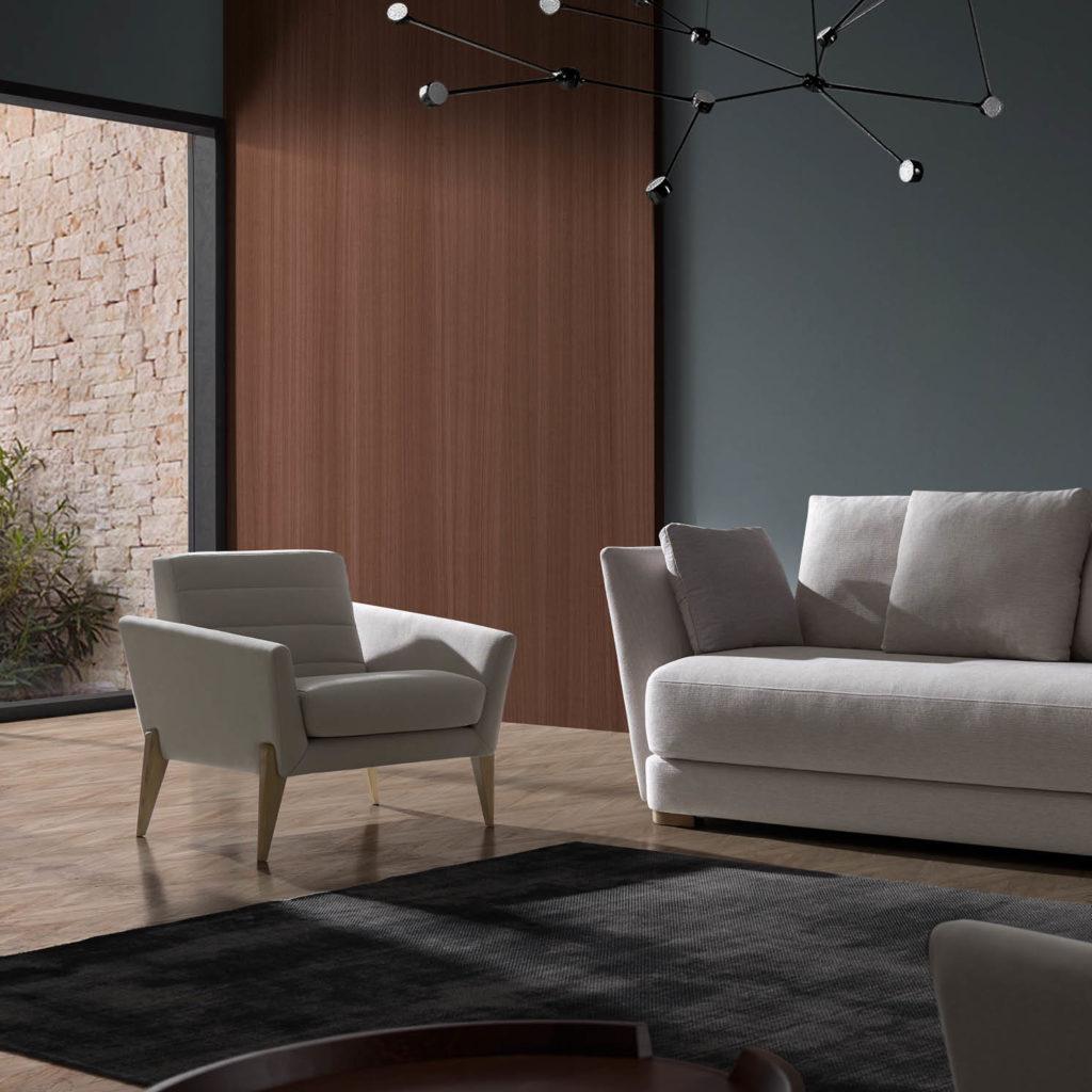 APIL butaca con sofá ALAN