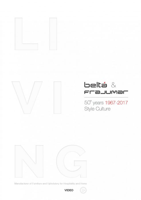 Catálogo de Living Belta Frajumar